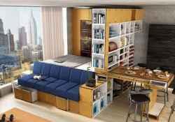 77 amazing small studio apartment decor ideas (48)