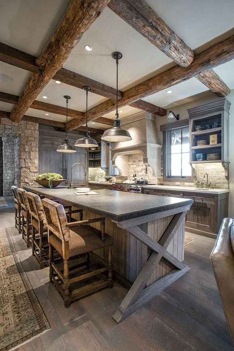 77 best rustic renovations ideas for farmhouse style (65)