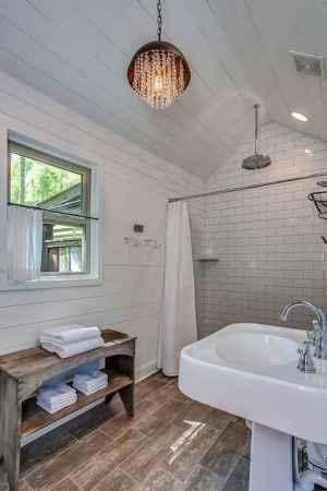 80 best farmhouse tile shower ideas remodel (57)