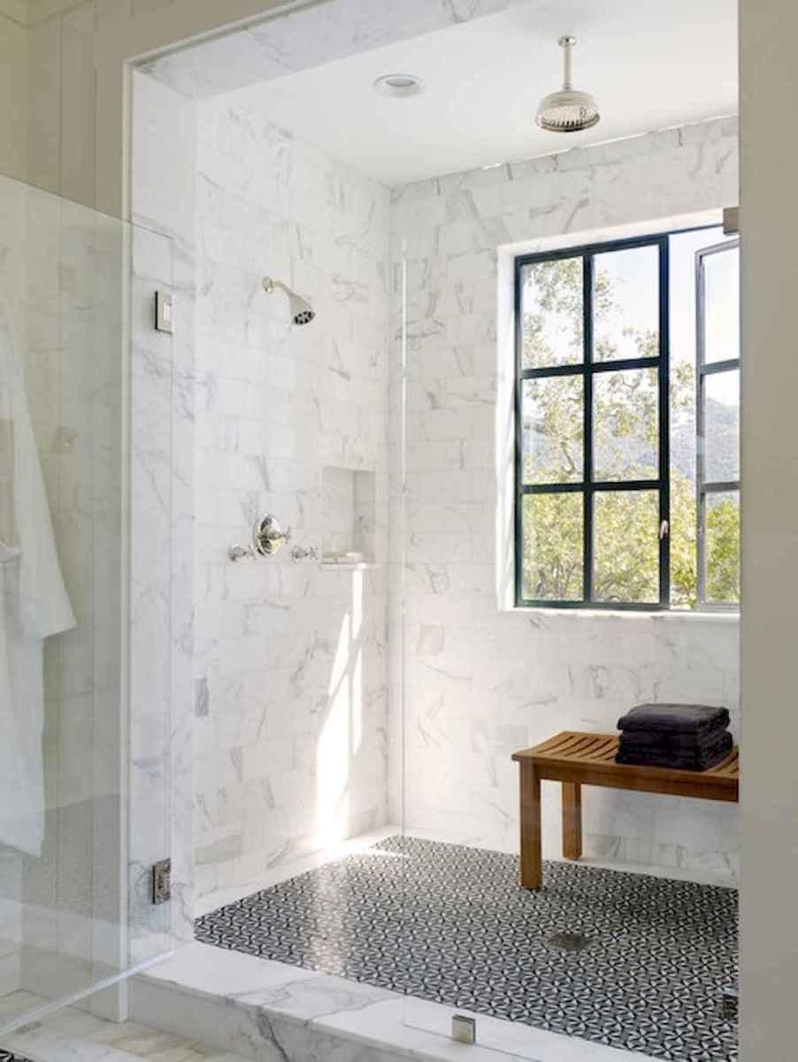 80 best farmhouse tile shower ideas remodel (64)