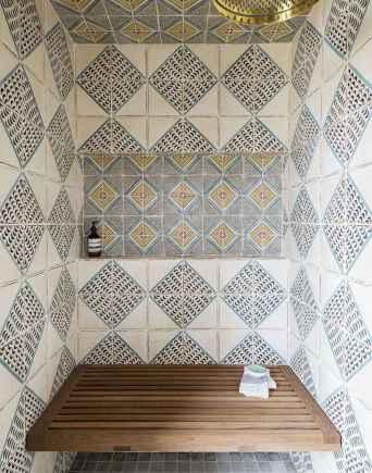 80 best farmhouse tile shower ideas remodel (79)