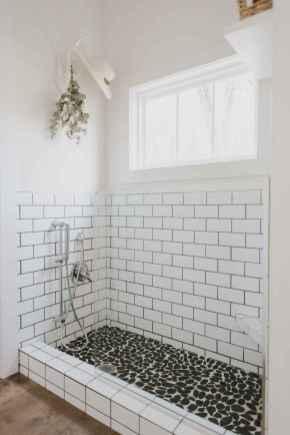 80 best farmhouse tile shower ideas remodel (80)