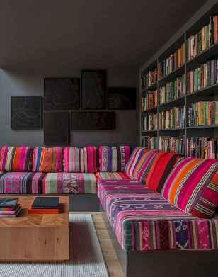 88 beautiful apartment living room decor ideas with boho style (104)