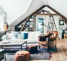 88 beautiful apartment living room decor ideas with boho style (105)