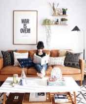 88 beautiful apartment living room decor ideas with boho style (112)