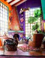 88 beautiful apartment living room decor ideas with boho style (121)