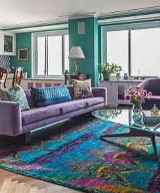 88 beautiful apartment living room decor ideas with boho style (123)
