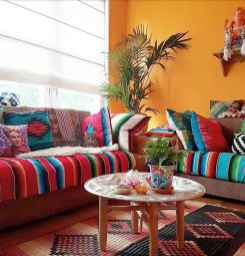 88 beautiful apartment living room decor ideas with boho style (135)
