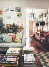 88 beautiful apartment living room decor ideas with boho style (141)