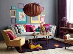 88 beautiful apartment living room decor ideas with boho style (99)