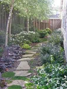 90 beautiful side yard garden decor ideas (12)