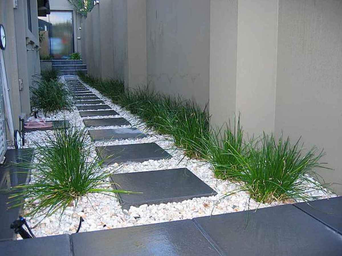 90 beautiful side yard garden decor ideas (13)