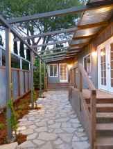 90 beautiful side yard garden decor ideas (27)