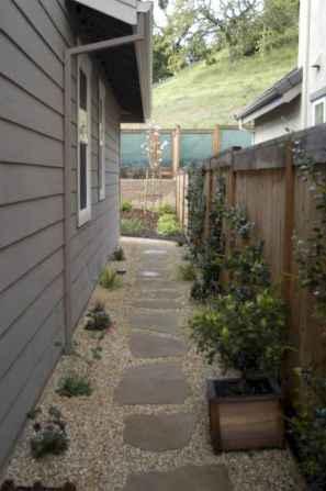 90 beautiful side yard garden decor ideas (31)