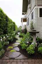 90 beautiful side yard garden decor ideas (47)
