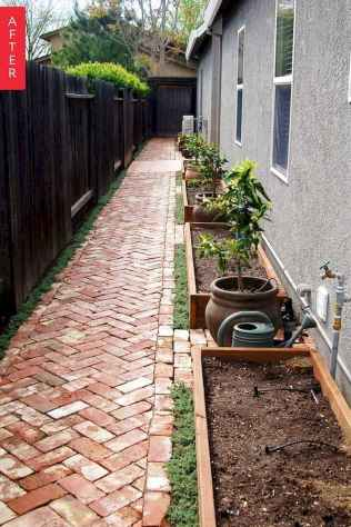 90 beautiful side yard garden decor ideas (57)