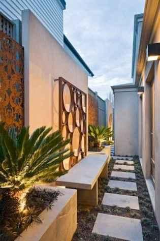 90 beautiful side yard garden decor ideas (83)