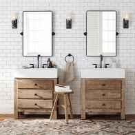 90 best lamp for farmhouse bathroom lighting ideas (1)
