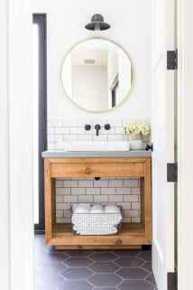 90 best lamp for farmhouse bathroom lighting ideas (33)