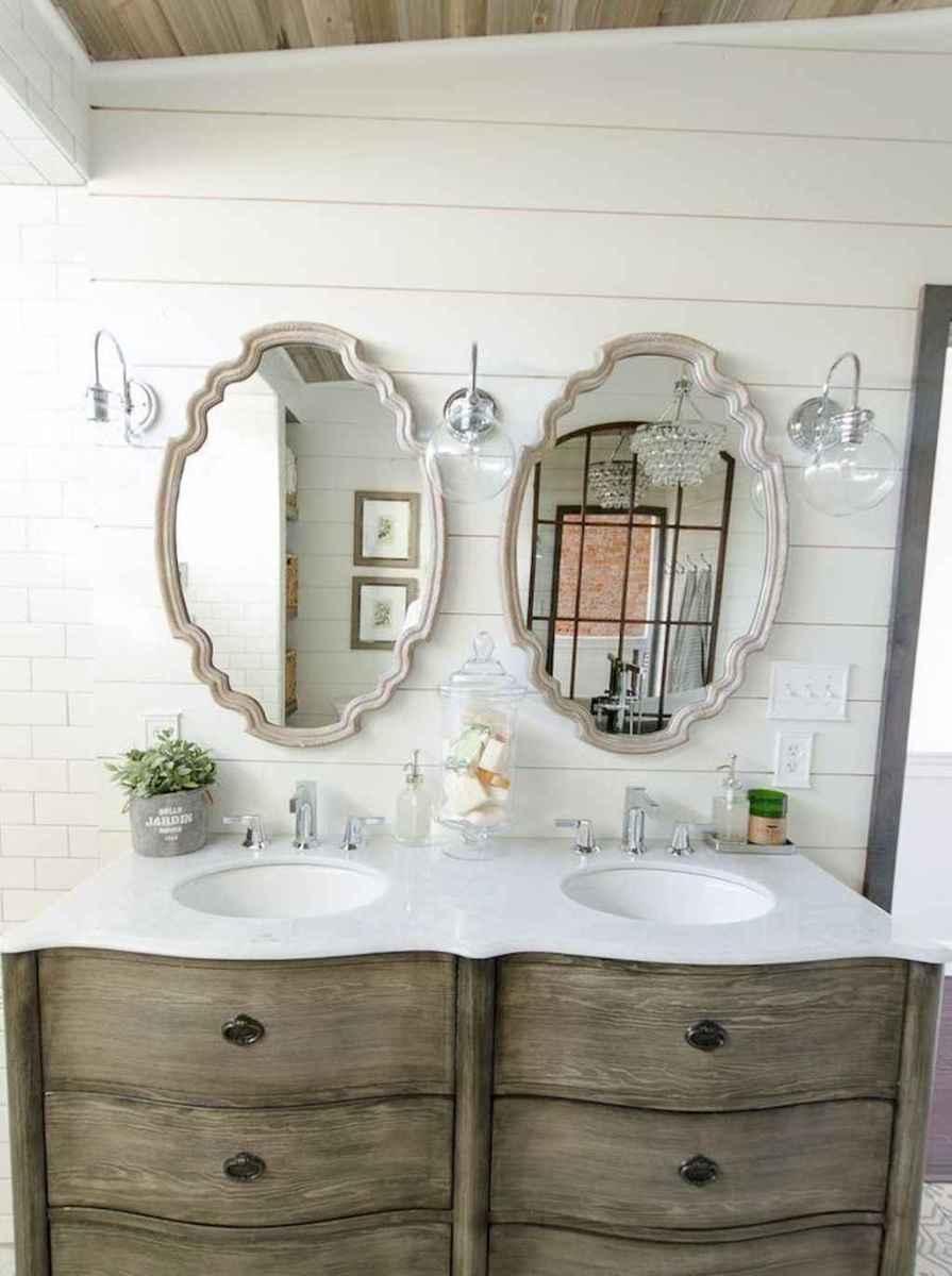 90 best lamp for farmhouse bathroom lighting ideas (35)