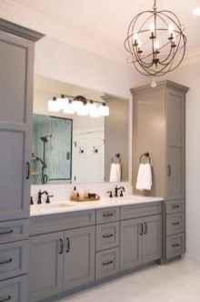 90 best lamp for farmhouse bathroom lighting ideas (5)