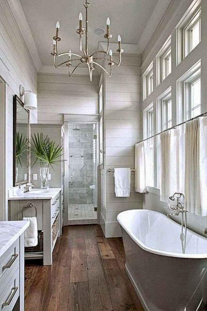 90 best lamp for farmhouse bathroom lighting ideas (54)