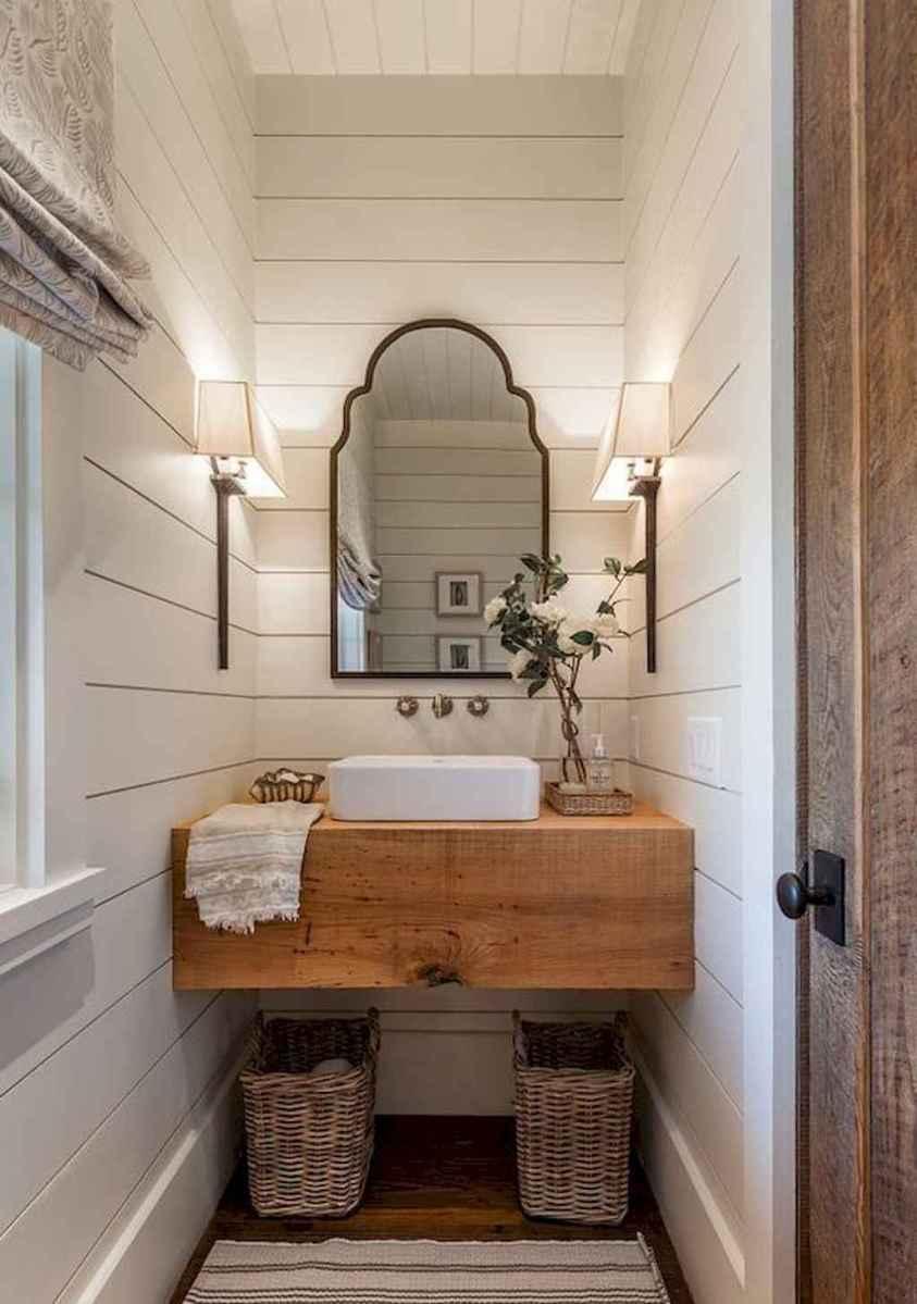 90 best lamp for farmhouse bathroom lighting ideas (56)