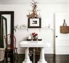90 best lamp for farmhouse bathroom lighting ideas (76)