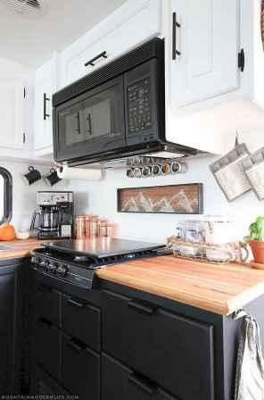 90 modern rv remodel travel trailers ideas (10)