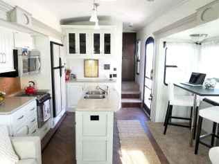 90 modern rv remodel travel trailers ideas (12)