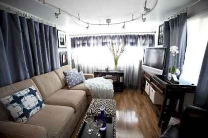 90 modern rv remodel travel trailers ideas (30)