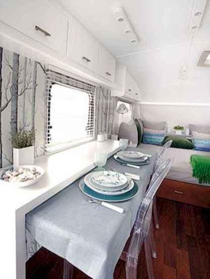 90 modern rv remodel travel trailers ideas (77)