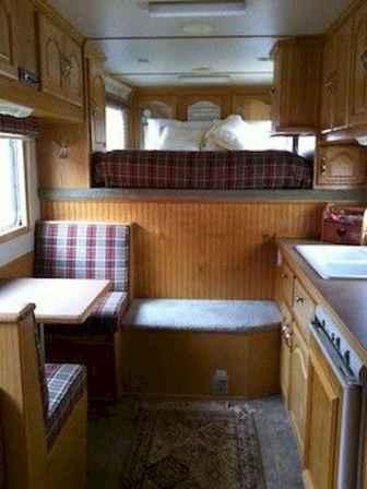 90 modern rv remodel travel trailers ideas (9)