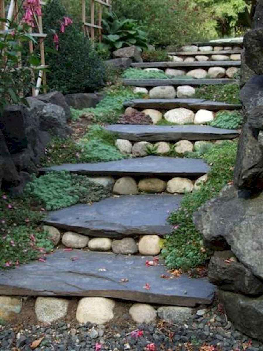 Top 100 stepping stones pathway remodel ideas (102)