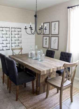 100 best farmhouse dining room decor ideas (143)