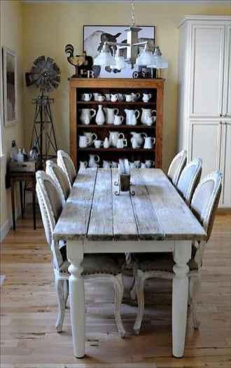 100 best farmhouse dining room decor ideas (163)