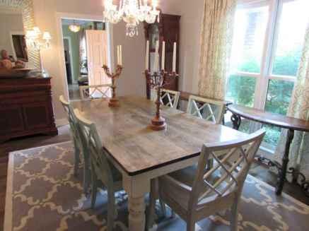 100 best farmhouse dining room decor ideas (172)