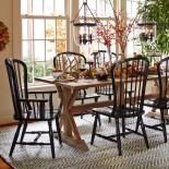 100 best farmhouse dining room decor ideas (186)