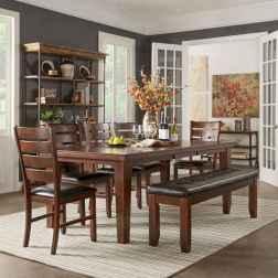 100 best farmhouse dining room decor ideas (189)