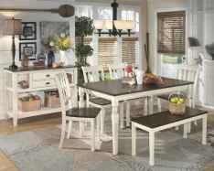100 best farmhouse dining room decor ideas (204)