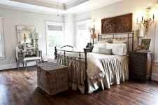100 elegant farmhouse master bedroom decor ideas (64)