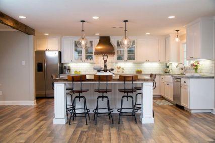 110 amazing farmhouse kitchen decor ideas (1)