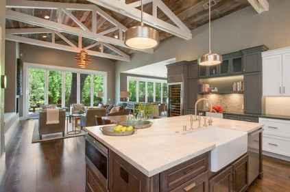 110 amazing farmhouse kitchen decor ideas (37)