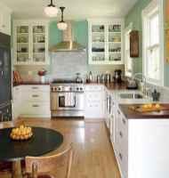 110 amazing farmhouse kitchen decor ideas (54)