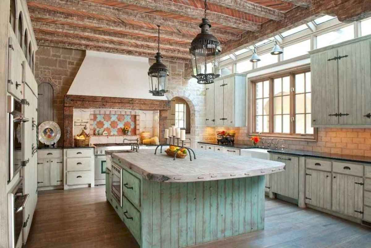 110 amazing farmhouse kitchen decor ideas (86)