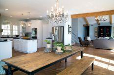 110 amazing farmhouse kitchen decor ideas (9)