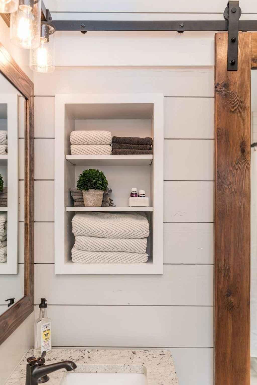 110 best farmhouse bathroom decor ideas (25)