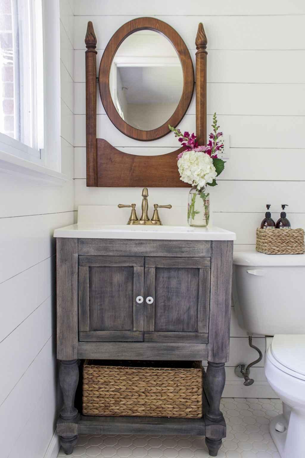 110 best farmhouse bathroom decor ideas (26)
