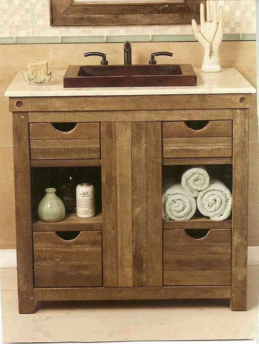 110 best farmhouse bathroom decor ideas (59)