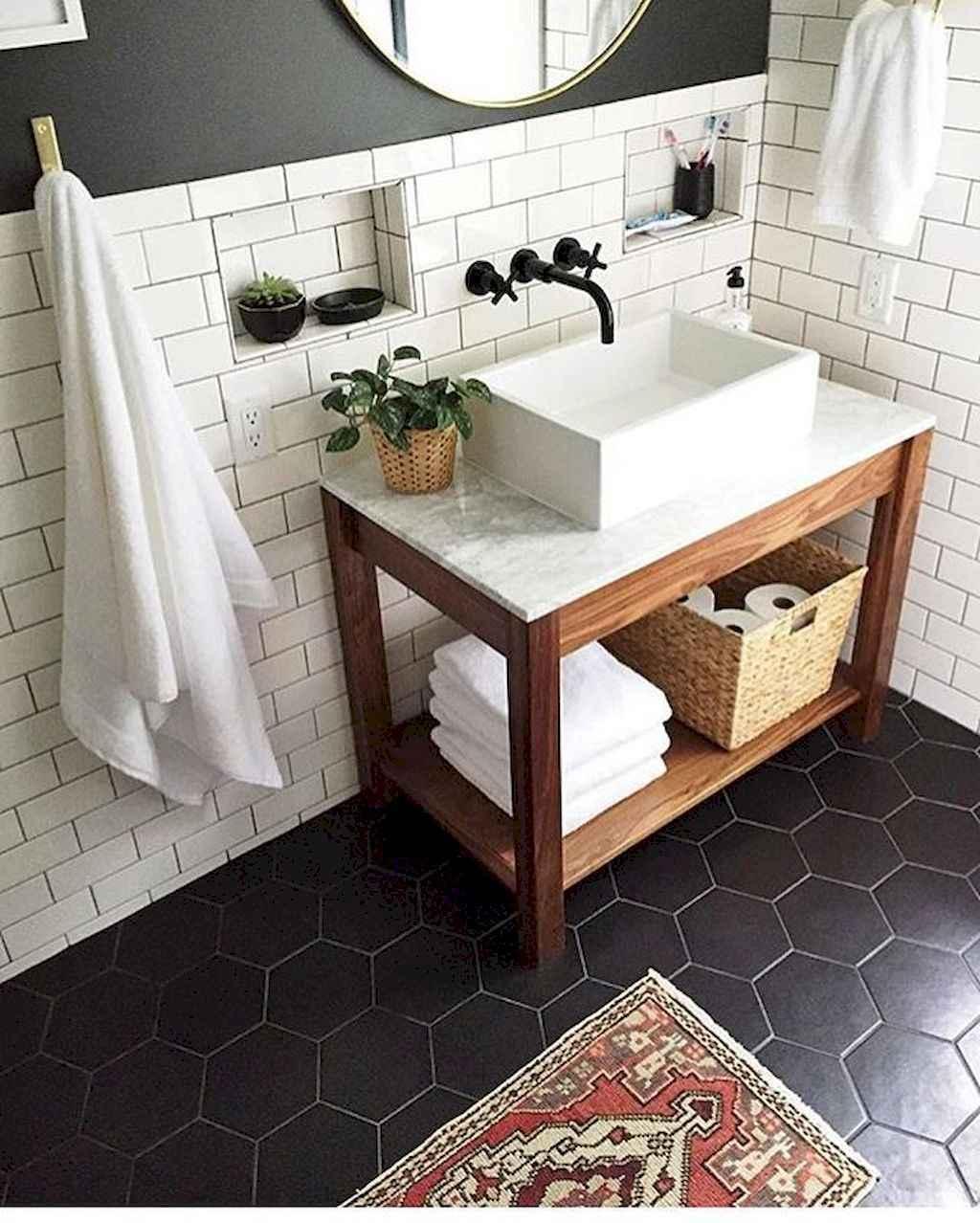 110 best farmhouse bathroom decor ideas (71)
